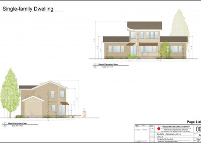 Kezar_Homes_Ecofit_2_A3_South_and_West_Elevation_170709